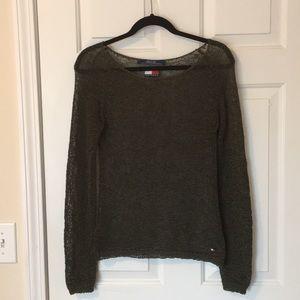 Vintage (97-98) Tommy Hilfiger mesh shirt/cover-up